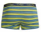 Calvin Klein Men's CK One Cotton Trunk - Blue Shadow 2