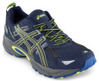ASICS Men's GEL-Venture 5 Shoe - Indigo Blue/Black/Flash Yellow 2
