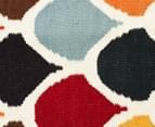 Hannah Pure Wool Flatweave Scales 225x155cm Medium Rug - Multi 4