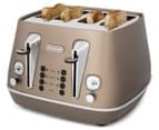 DéLonghi Distinta 4-Slice Toaster - Future Bronze 2