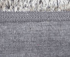 Super Soft Metallic 165x115cm Shag Rug - Granite 6