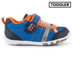 Clarks Toddler Moss Shoe - Blue/Multi 1