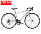 Reid Cycles 2016 Women's Osprey Road Bike + FREE Starter Pack - Black/White/Light Blue 1