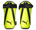 Puma King Universal Shinguard - Safety Yellow/Black 1