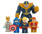 LEGO® Marvel Super Heroes Avenjet Space Mission Building Set 6