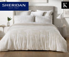 Sheridan Impressions King Bed Quilt Cover Set - Sand 1