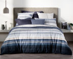 Sheridan Hillside Queen Bed Quilt Cover Set - Midnight 2
