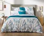 Sheridan Paloma Double Bed Quilt Cover Set - Ocean 2