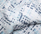 Sheridan Alchemie King Bed Quilt Cover Set - Aquamarine 3