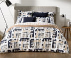 Sheridan Lior King Bed Quilt Cover Set - Dune 2