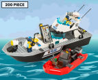 LEGO® City Police Patrol Boat Building Set 1