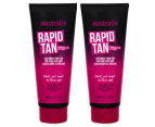 2 x Australis Rapid Tan Chocolate Lotion 200mL 1