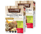 2 x Gluten Free Kitchen Banana Bread Mix w/ Ancient Grains 450g 1