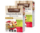 2 x Gluten Free Kitchen Simple Muffin Mix w/ Ancient Grains 450g 1