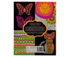 Kaleidoscope Neon Colouring Kit - Butterflies & More 2