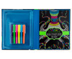 Kaleidoscope Neon Colouring Kit - Sea Creatures & More 3