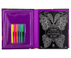 Kaleidoscope Neon Colouring Kit - Butterflies & More 3