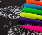 Kaleidoscope Neon Colouring Kit - Sea Creatures & More 4