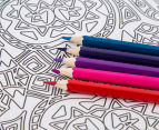 Kaleidoscope Colouring Kit - Spectacular Patterns & More 4
