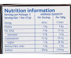 4 x Weight Watchers Choc Delight Indulgent Bar 105g 5pk 5