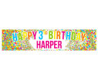 Personalised Kids' Party Banner 1