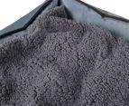 VitaPet 80x65cm Fleece Pet Bed - Grey 6