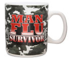 Man Flu Survivor Giant Coffee Mug  3