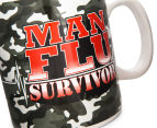 Man Flu Survivor Giant Coffee Mug  5