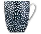 Aspen 10cm Floral Mug 4-Pack - Ink Blue 3