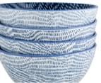 Aspen 13.5cm Dash Bowl 4-Pack - Ink Blue 4