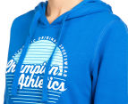 Champion Women's VF Athletics Hoodie - Bozzetto Blue 6