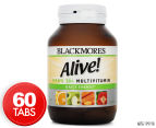 Blackmores Alive! Men's 50+ Daily Energy Multivitamin 60 Tabs 1