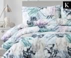 Belmondo Travetine King Bed Quilt Cover Set - Multi 1