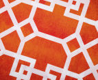 Belmondo Byzantium Queen Bed Quilt Cover Set - Orange 5