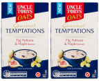 2 x Uncle Tobys Gourmet Temptations Oats Fig, Sultana & Maple 280g 1