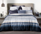 Sheridan Hillside Double Bed Quilt Cover Set - Midnight 2