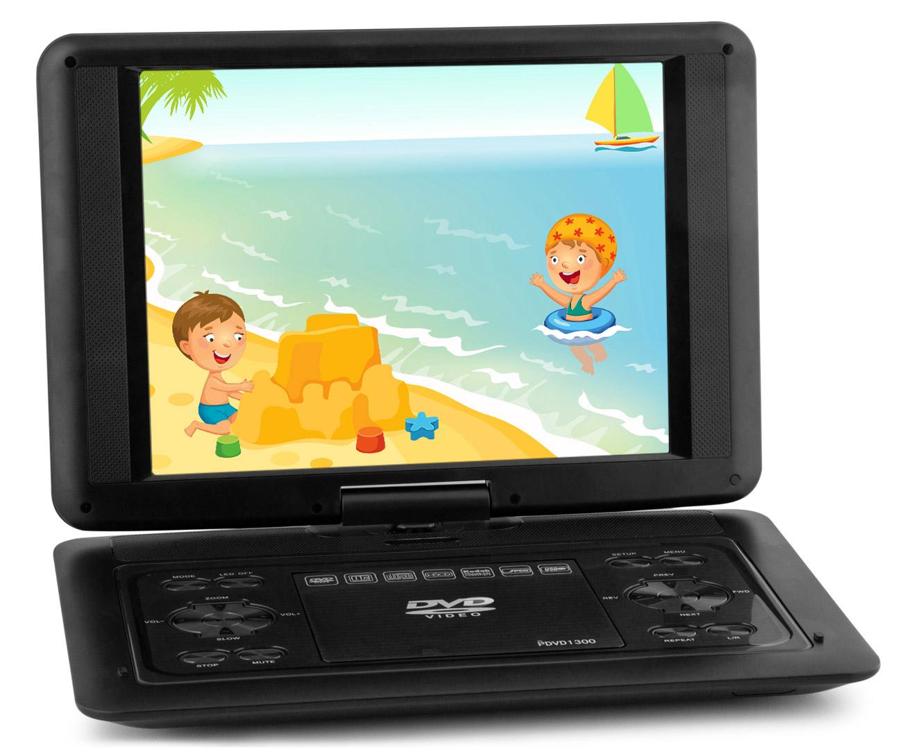 portable 13 inch dvd player ebay. Black Bedroom Furniture Sets. Home Design Ideas