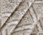 Sheridan Hemming Queen Bed Quilt Cover Set - Peat 4