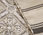 Sheridan Hemming Queen Bed Quilt Cover Set - Peat 6