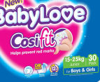 BabyLove Nappies Junior, 15-25kg 30pk 2
