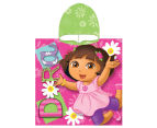 Dora The Explorer 60x120cm Hooded Towel 1
