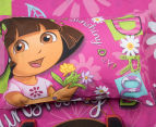 Dora The Explorer Single Bed Quilt Cover Set - Multi 3