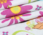 Dora The Explorer Single Bed Quilt Cover Set - Multi 5