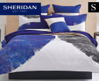 Sheridan Baeck Single Standard Quilt Cover Set - Deep Sea 1