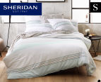 Sheridan Warrigal Single Quilt Cover Set - Celadon 1