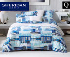 Sheridan Holtby Queen Quilt Cover Set - Sky 1