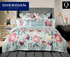 Sheridan Harbar Queen Bed Quilt Cover Set - Willow 1