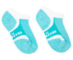 Bonds Kids' Ultimate Comfort Low Cut Socks 2-Pack - Pink/Turquoise 2