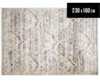 Belle Exquisite 230x160cm Medium Rug - Silver 1