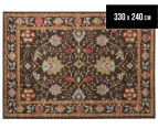 Arya Beauty Classic Collection Zara 330x240cm X Large Rug - Brown 1